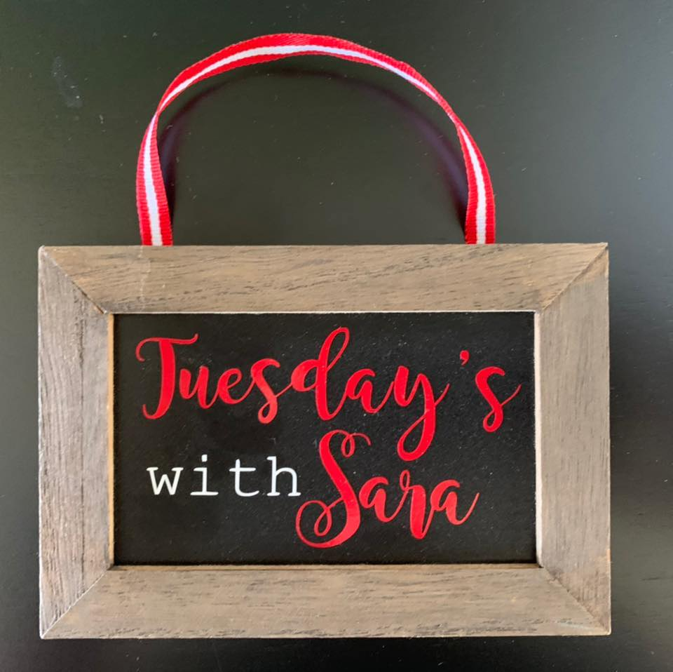 Tuesdays with Sara