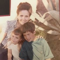 My mom, my brother, and me!