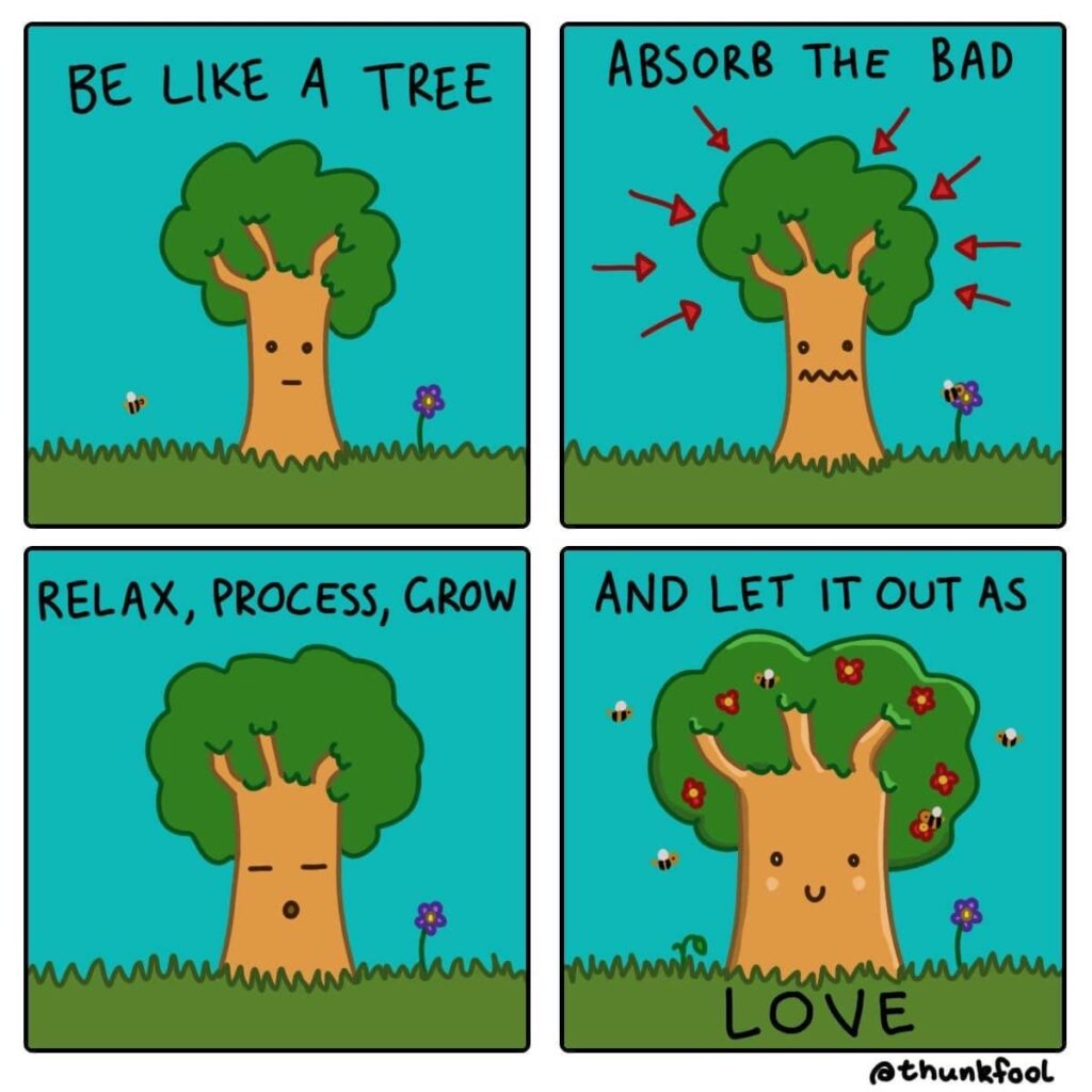 The Call To Be A Tree